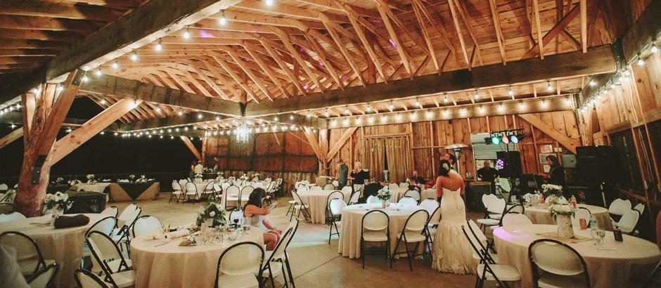 Brush Canyon Ranch Wedding Reception Venue