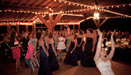 Mountain Ranch Wedding Receptions