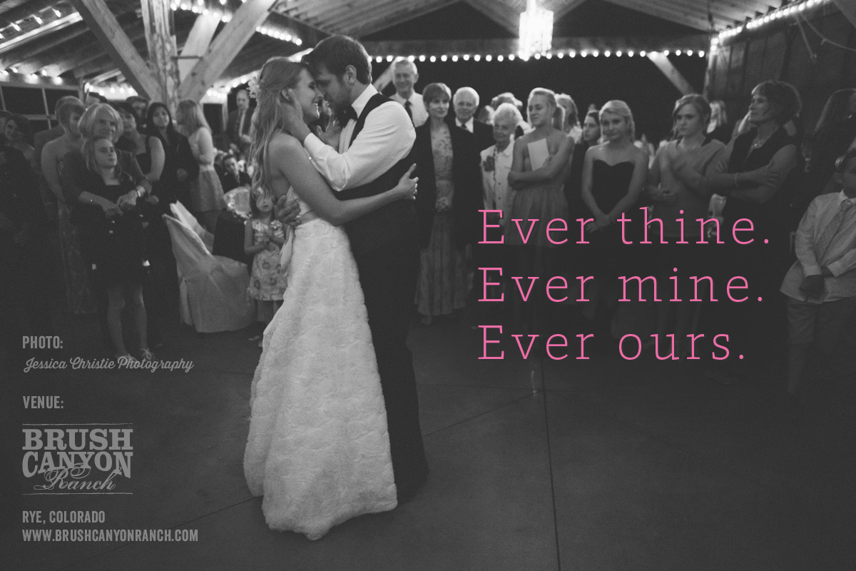 ever thine ever mine ever ours brush canyon ranch