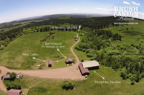 Brush Canyon Ranch Aerial Photo