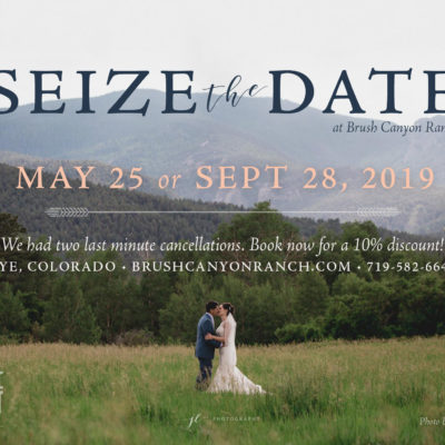 Seize the Date with a Discount for 2019