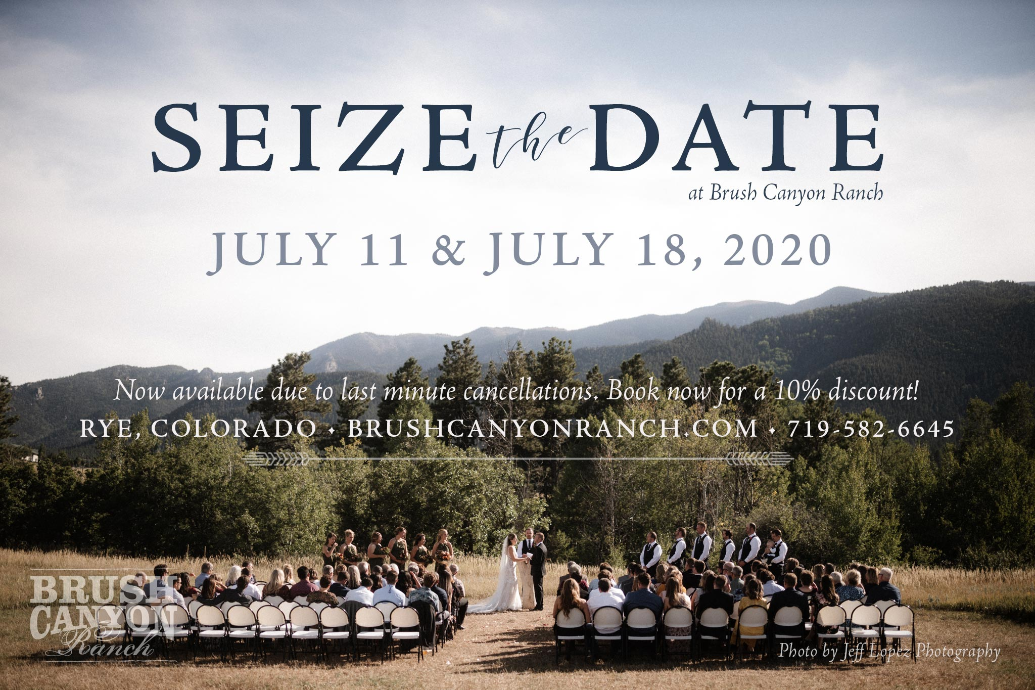 Seize the Date with a Discount for 2020
