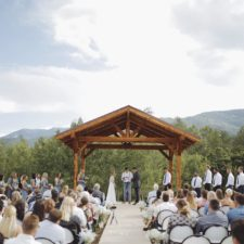 Brush Canyon Ranch Outdoor Wedding Ceremony